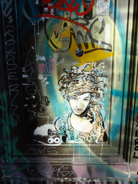 Barcelona Street Art - Alice - Amy Polansky