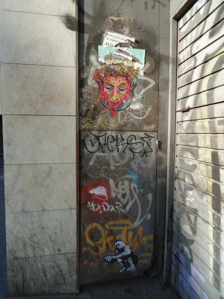Barcelona Street Art - Amy Polansky
